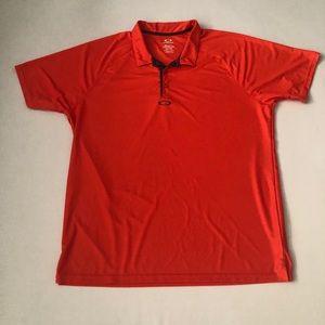 Oakley Orange short sleeve Polo shirt top Xxl